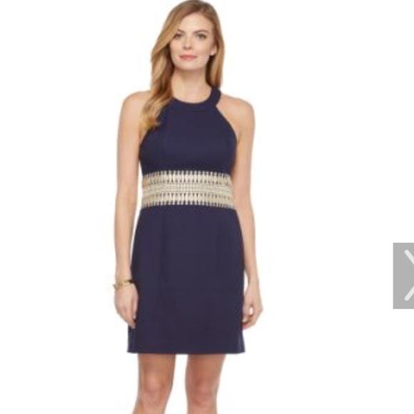 0d3852955e1b13 Lilly Pulitzer Dresses & Skirts - Lilly Pulitzer Ashlyn shift dress - true  navy
